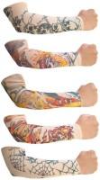 Aadishwar Creations Tattoo2 Nylon Arm Warmer(Multicolor)