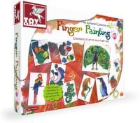 ToyKraft Finger Painting Kit 2 Creative Art Toys 39461