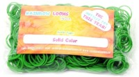 Rainbow Loom Green Solid color refill bands for Rainbow looms India
