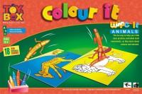 Toysbox Colour It Wipe It - Animals