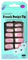 Konad French Design Tip Box - NFDG3 Natural(Pack of 24)
