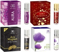 Arochem Aro PDS Aro Romance Aro magnet Aura Combo Floral Attar(Floral)