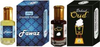 Purandas Ranchhoddas PRS Fawaz & Dehnal-Oud Attar 6ml Each Herbal Attar(Dehn el oud)