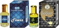 Purandas Ranchhoddas PRS Fawaz & Bakhoor Attar 6ml Each Herbal Attar(Islamic Bakhur)