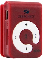ZEBRONICS Node 16 GB MP3 Player(Red)