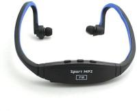 Futaba Wireless Sports Music FUB128SMP02 8 GB MP3 Player(Blue, Black, 2 Display)