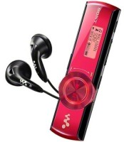 Sony NWZ-B172F 2 GB MP3 Player(Red, 3 Line Display)