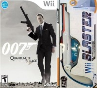 007 : Quantum Of Solace (Blaster Long Gun)(for Wii)