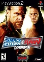 WWE SmackDown Vs Raw 2009(for PS2)
