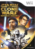 Star Wars : The Clone Wars Republic Heroes(for Wii)