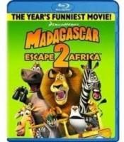Madagascar 2: Escape 2 Africa(Blu-ray English)