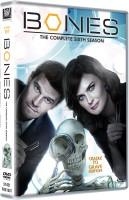Bones: The Complete - Cradle to Grave Edition (6-Disc Box Set) Season 6(DVD English)