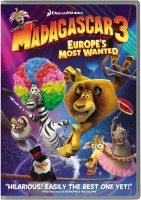 Madagascar 3: Europe's Most Wanted(DVD English)