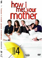 How I Met Your Mother Season - 4 4(DVD English)