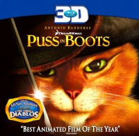 Puss In Boots 3D(3D Blu-ray English)