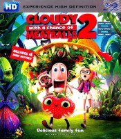 Cloudy With A Chance Of Meatballs 2(Blu-ray English)