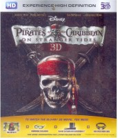 Pirates Of Caribbean 4 3D(3D Blu-ray English)