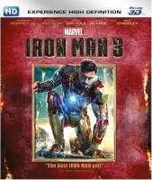 Iron Man 3 In 3D(3D Blu-ray English)