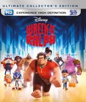 Wreck-It Ralph 3D(3D Blu-ray English)