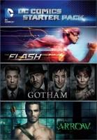 DC Comics Starter Pack : The Flash / Gotham / Arrow Complete(DVD English)
