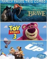 Family Faves Trio Combo - Brave /Toy Story 3 / Up(Blu-ray English)
