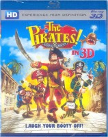 The Pirates! Band Of Misfits 3D(3D Blu-ray English)