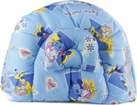 Blue Berrys bed with mosquito net Convertible Crib(Fabric, Blue)