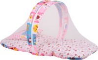 Knotty Kids Bby Bedding Set With Mosquito Net Standard Bunk(Fabric, Pink)
