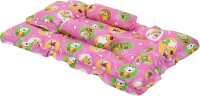 Knotty Kids Baby Bedding Set With Pillow Standard BUNK(Fabric, Pink)