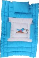 Jinglers Premium Baby Carry Bed Premium Crib(Fabric, Blue)