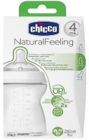 Chicco Rounded Teat For Growing Babies - 250 ml(Transparent)