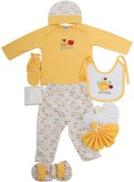 MeeMee Pampering Present For New Borns(Yellow)