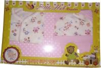 LITTLE HUB New Born Baby Gift Set - Pink(Pink)
