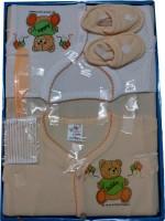 Jerry & Tom 7 Pcs Peach Baby Combo Gift Set(Peach)