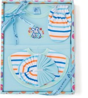 Stuff Jam Ababy 6 Piece Baby Apparels Gift Set(Blue)