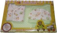 LITTLE HUB New Born Baby Gift Set - Green(Green)