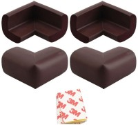 Kuhu Creations Edge and Corner Guard For Kids Safety(Brown)