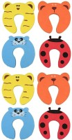 ARRA Baby Safety Door Stopper Protection Jammers Kids Infant 8 Pcs(Multicolor)