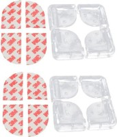 Kuhu Creations 8 Pcs Transparent Corner Guard Cushion for Child Infant Safety(Transparent)