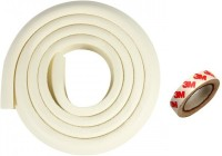 Kuhu Creations Edge & Corner Guards 2M Crash Bar Children Safety Edge Guards Strip with 3M Tape(Beeze White)