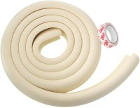 Kuhu Creations Edge & Corner Guards 2M Crash Bar Children Safety Edge Guards Strip with 3M Tape(Ivory)