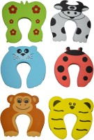 Kuhu Creations Animal Cartoon Style Baby Safety Door Stopper(Multicolor)