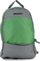 Wildcraft Leap Medium Backpack(Grey, Green)