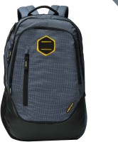 Gear Campus 9 Backpack Navy blue Yellow 27 L Backpack(Blue)