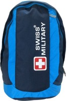 View Swiss Military Polyester Laptop Backpack LBP22 30 L Laptop Backpack(Blue) Laptop Accessories Price Online(Swiss Military)