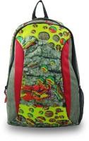 Campfire ABSTRAB CREATION Waterproof Multipurpose Bag(Green, 22 L)