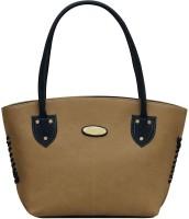 Creative India Exports Shoulder Bag(Beige, Black, 16 inch)