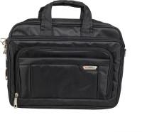 View Sapphire 16 inch Expandable Laptop Messenger Bag(Black) Laptop Accessories Price Online(Sapphire)