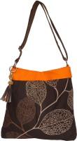 Spice Art Shoulder Bag(Brown, 15 inch)