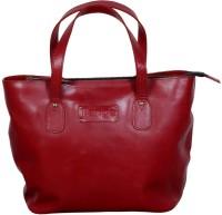 l'ange leather bag Shoulder Bag(Maroon, 7 L)